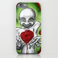 iPhone & iPod Case featuring HeartAttack by myripART