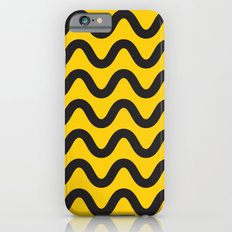 Yellow Ripple iPhone 6 Slim Case