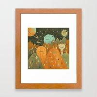 Elsewhere Framed Art Print