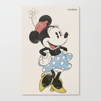Minnie Mouse Canvas Print
