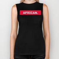 AFRICAN Biker Tank