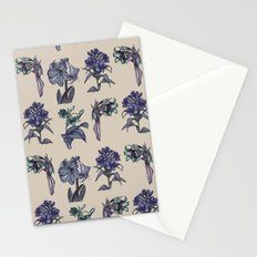 Botanical Florals | Vintage Blueberry Stationery Cards