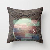 Miami Horror  Throw Pillow