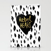 Rebel Heart Stationery Cards