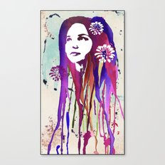 Dripping Canvas Print