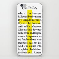 Our Father iPhone & iPod Skin