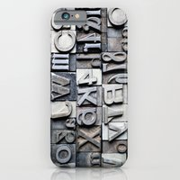 Letterpress iPhone 6 Slim Case