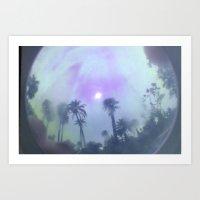 Irridescent Sky Art Print