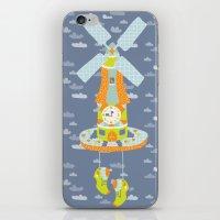 Windmill O'Clock iPhone & iPod Skin
