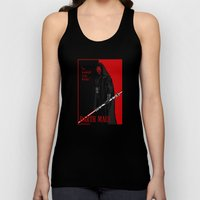 Darth Maul, Say Goodnight To the Badguy Unisex Tank Top