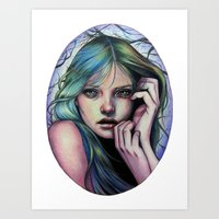 Moonlight Soliloquy Art Print