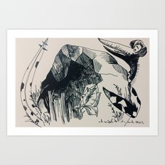 Terrordactly Art Print