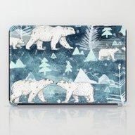 Ice Bears iPad Case