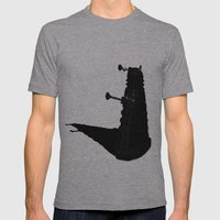 Exterminate!!! Mens Fitted Tee Athletic Grey SMALL