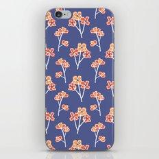 anemone flowers :: lavender iPhone & iPod Skin