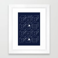Bubble Bobble Framed Art Print