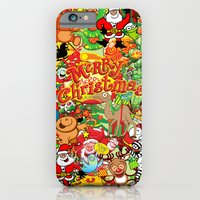 In Christmas melt into the crowd and enjoy it iPhone 6 Slim Case