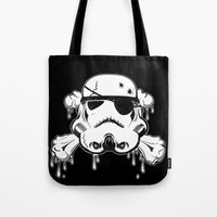Pirate Trooper - Black Tote Bag