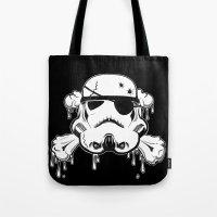 Pirate Trooper - Black Tote Bag