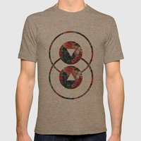 Artificiality Mens Fitted Tee Tri-Coffee SMALL