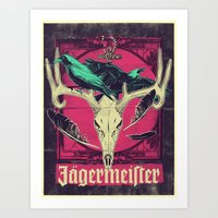 Meister of jägers Art Print