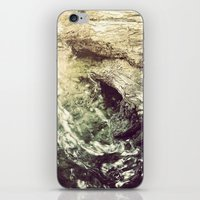 Sleeping under the River iPhone & iPod Skin