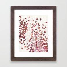Butterfly People 4 Framed Art Print