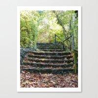 Stairways Canvas Print