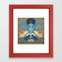 Hathi Framed Art Print