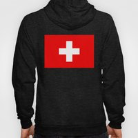 Flag of Switzerland - Authentic 2:3 scale version Hoody