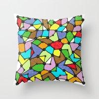 Yzor Pattern 130001 Conn… Throw Pillow