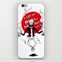 And with the music there are no limits... iPhone & iPod Skin