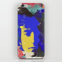 bob dylan iPhone & iPod Skin