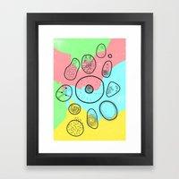 Mikrobi Framed Art Print