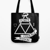 The Legend of Zelda - Triforce Tote Bag