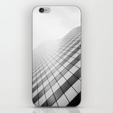 Grid Towards the Sky. iPhone & iPod Skin
