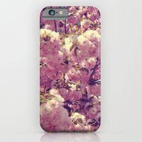 iPhone & iPod Case featuring Cherry Blossoms by CAPow!