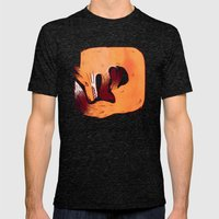 Fox Mens Fitted Tee Tri-Black SMALL