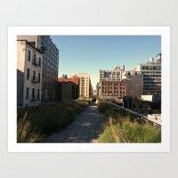 The Highline Art Print