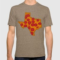 Everything's Bigger (on … Mens Fitted Tee Tri-Coffee SMALL