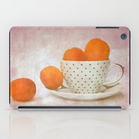 A Cup Full Of Apricots iPad Case