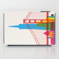 Shapes of San Francisco. Accurate to scale iPad Case