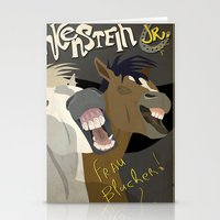Young Frankenstein Stationery Cards