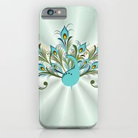 iPhone & iPod Case featuring Just a Peacock by Ruxique