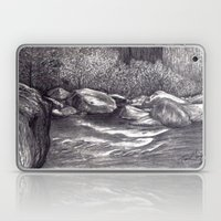Black and White 7 Laptop & iPad Skin