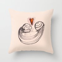 Love is in the air - 2 Throw Pillow