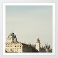 Seine - Paris Photograph… Art Print