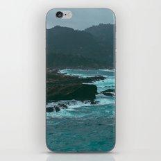 Big Sur Rocky Shore iPhone & iPod Skin