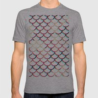 Koi Fish Mens Fitted Tee Athletic Grey SMALL