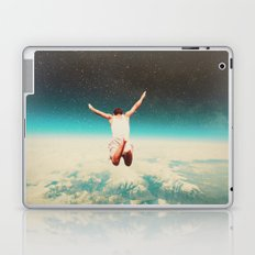 Falling with a hidden smile Laptop & iPad Skin